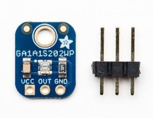 Capteur de lumière analogique GA1A12S202