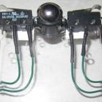 routage des câbles des détecteurs de contact.