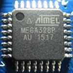 Atmega328p en composant de Surface sur un clone chinois d'Arduino nano (V3)