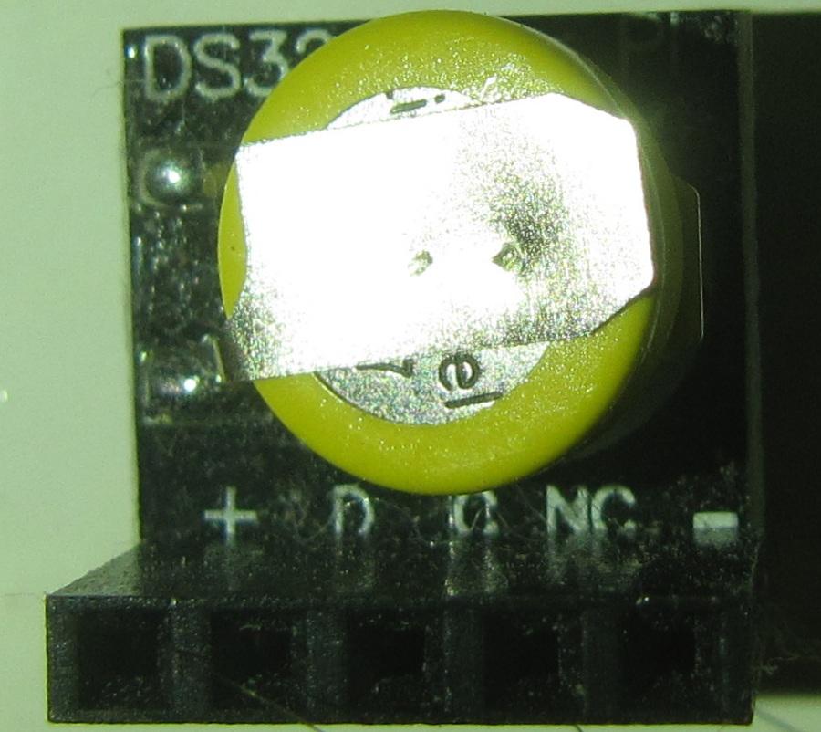 DS3231 Raspberry pi RTC - pinout