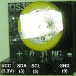DS3231 brochage et connexion