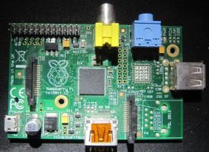Raspberry pi modèle A