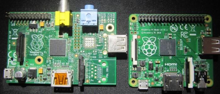 Raspberry pi A et A+