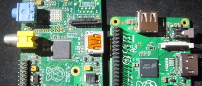 Raspberry pi modèles A et A+