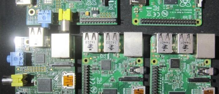les divers modèles de Raspberry Pi, du A au raspi 2
