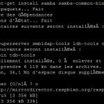 Partage de fichiers samba avec le Raspberry Pi