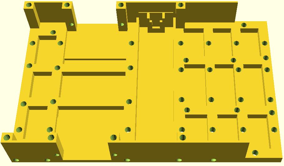 R.Ian - chassis conçu dans openscad