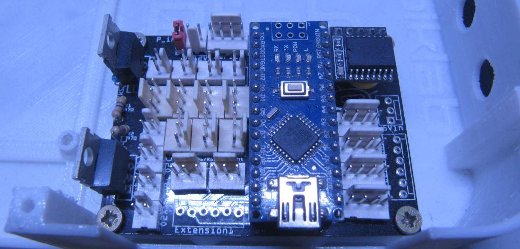 rampe à LED intelligente : la carte de commande