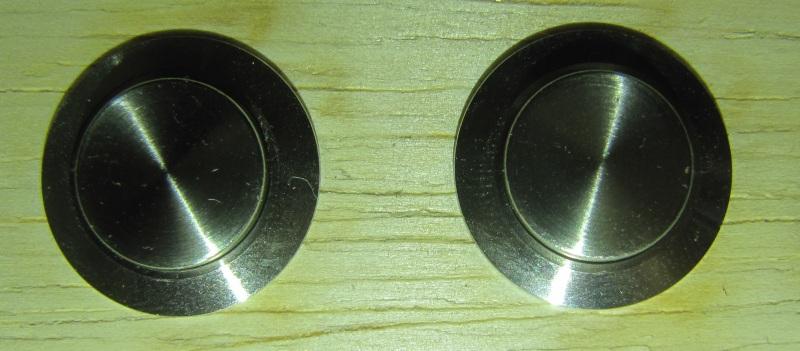 boutons chromés