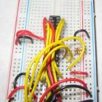 La breadboard du circuit de commande