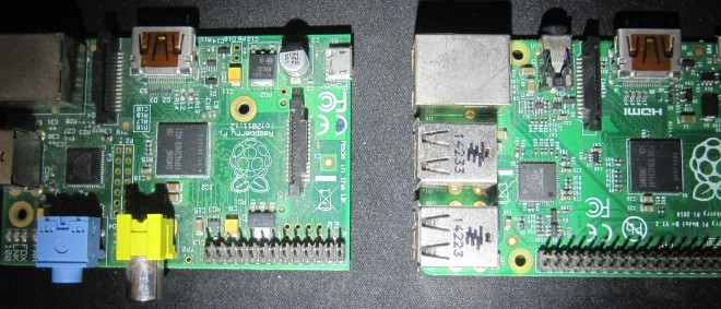 Raspberry pi B et B+