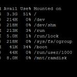 Ramdrive sur un Raspberry pi : réduisez l'usure de la carte SD!