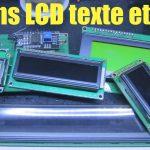 Les écrans LCD texte et leur conversion I2C